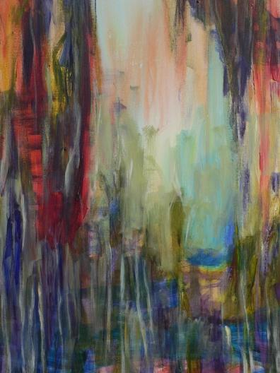 Sicht 3 60 x 80 cm Acryl auf Leinwand