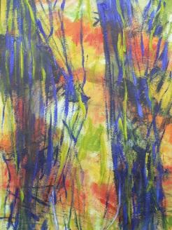 Sicht 1 60 x 80 cm Acryl auf Leinwand